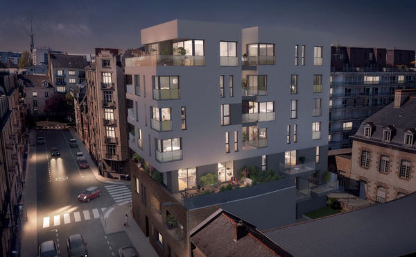 Achat Appartement Neuf 3 Pièces 75 M Rennes 596 500