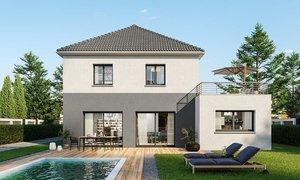 Maison neuve 7pièces 160m² Fréville