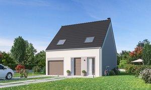 Maison neuve 4pièces 83m² Aix-Noulette