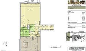 Appartement 3pièces 78m² Wasquehal