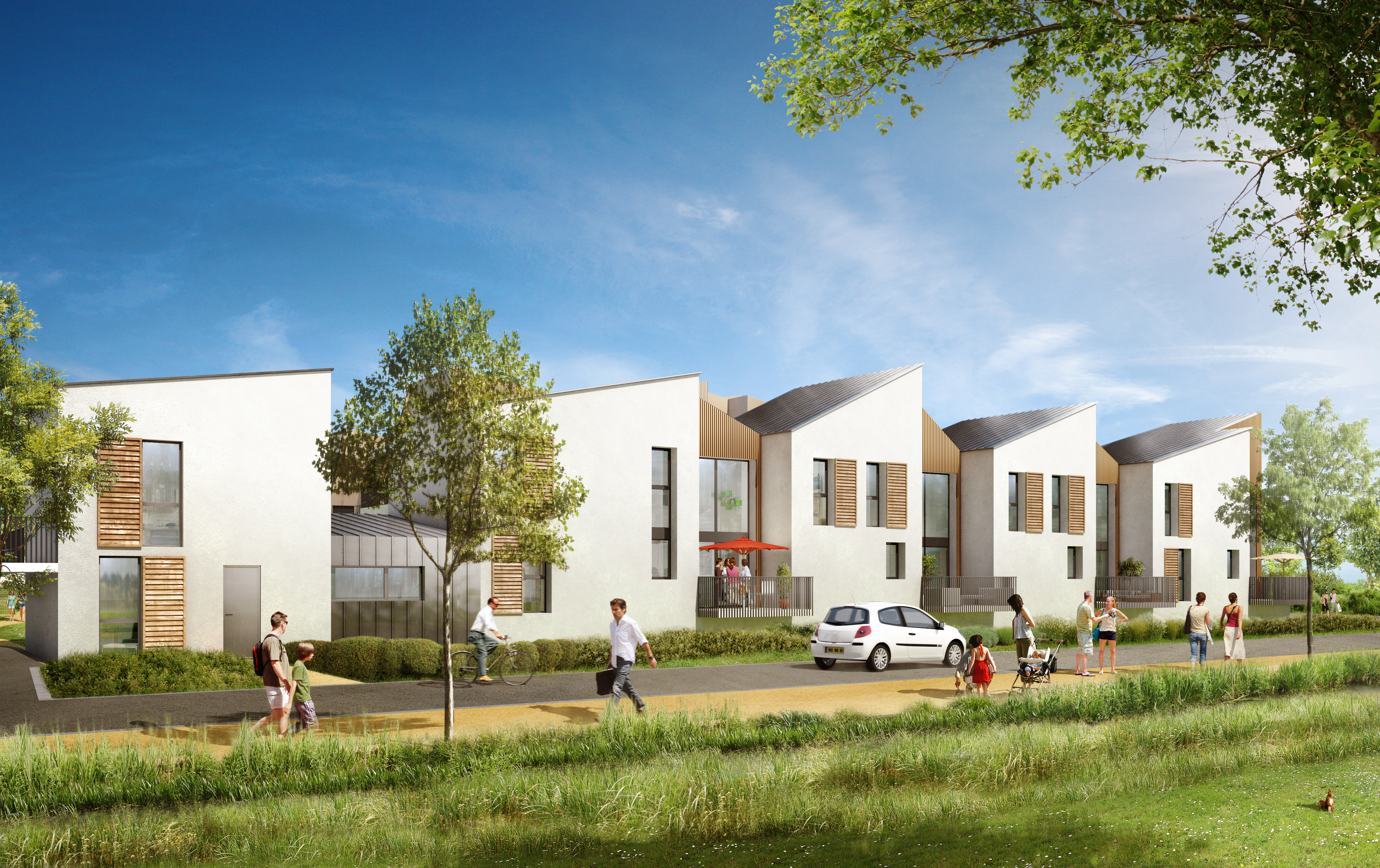 programme immobilier coeur bayonnes herblay 2 biens neufs 295 000. Black Bedroom Furniture Sets. Home Design Ideas