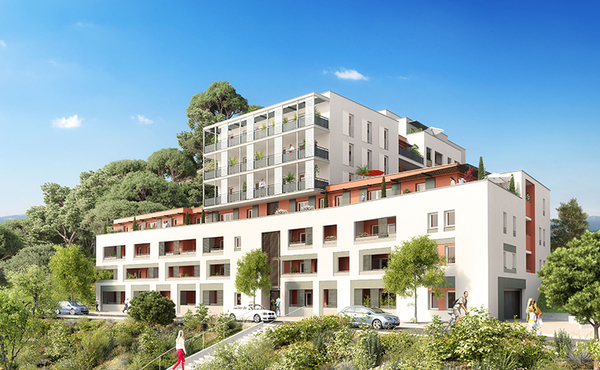 Programme immobilier natur a marseille 14e 61 biens for Aide achat immobilier neuf