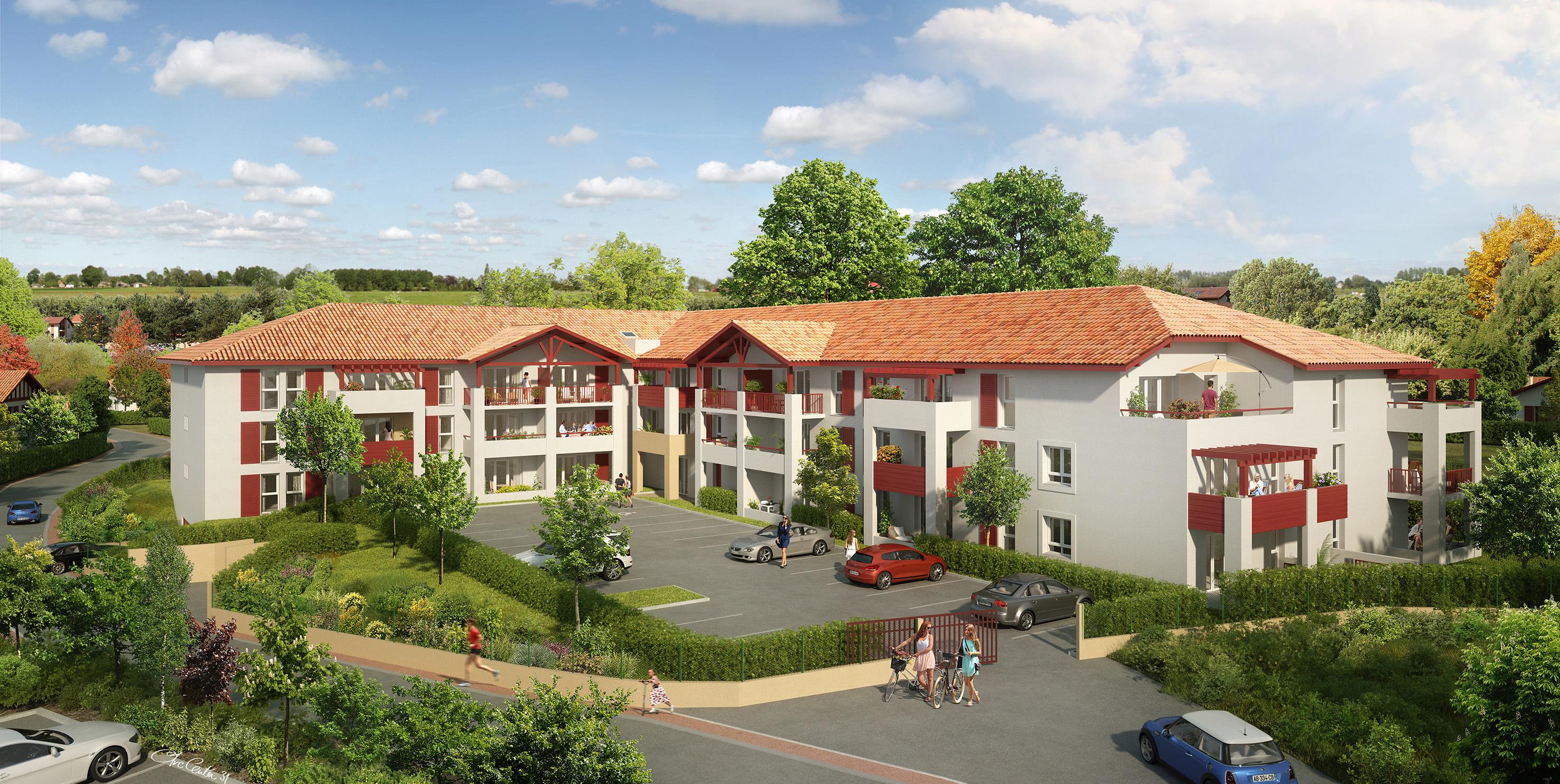 Programme immobilier leiho gorri ustaritz for Achat maison ustaritz