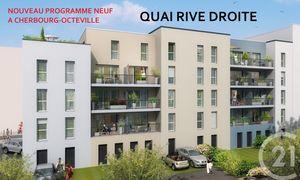 Appartement 2pièces 41m² Cherbourg-Octeville