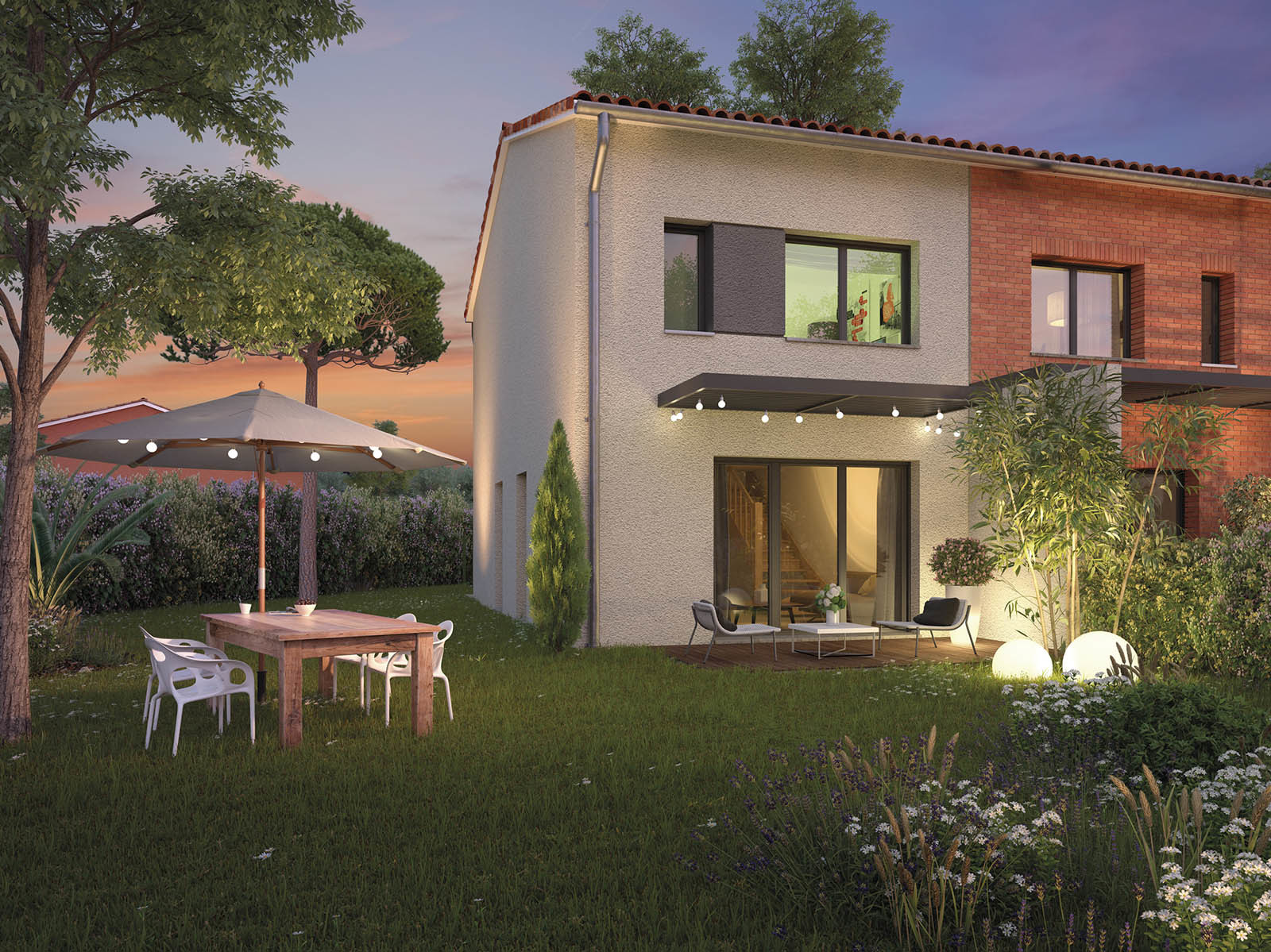 Programme immobilier les villas d t castanet tolosan for Salon jardin villa esmeralda tultitlan