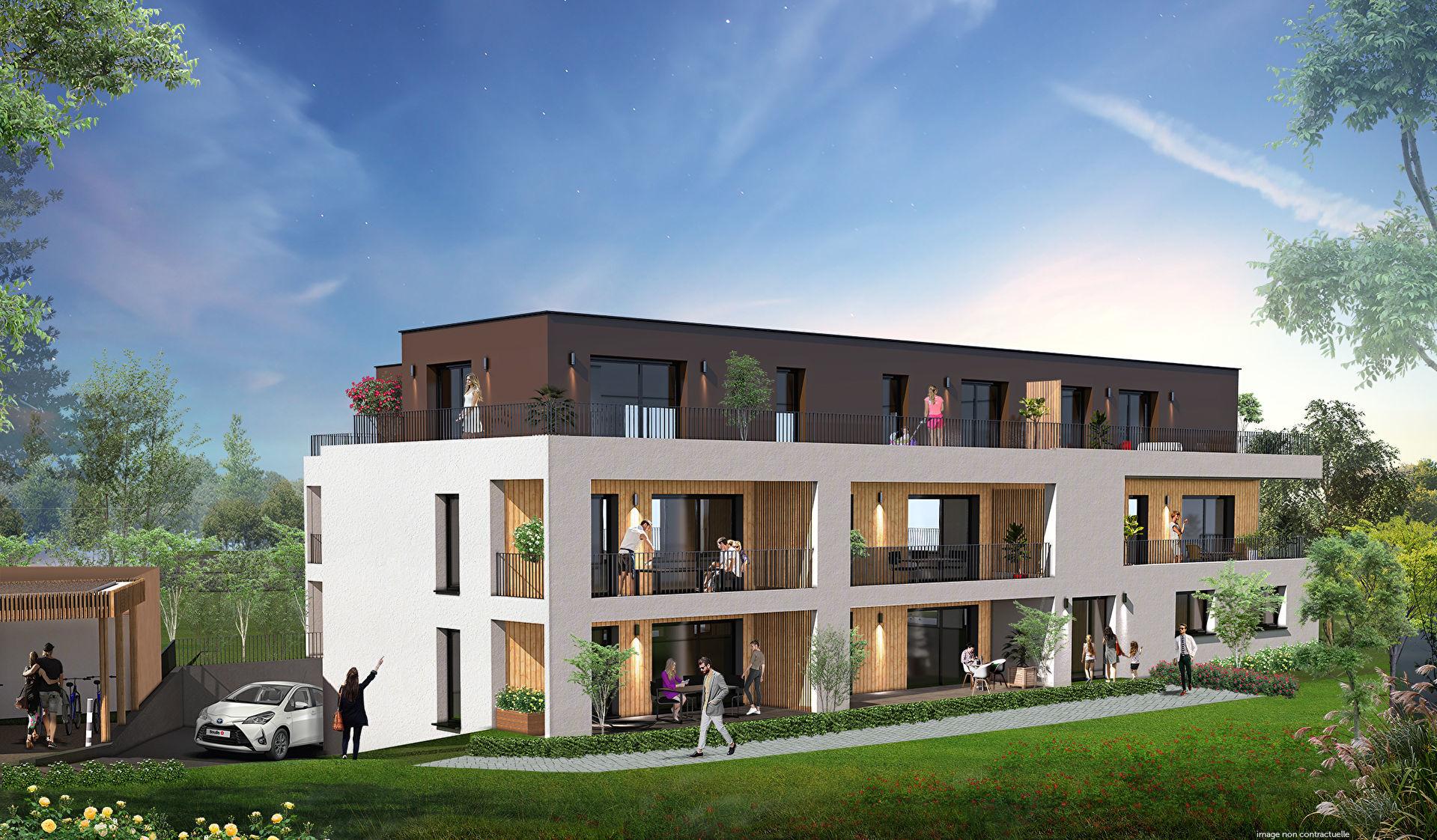 Appartement 4pièces 82m² à Strasbourg
