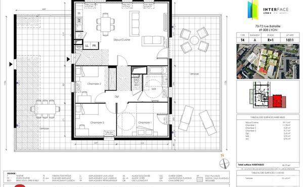 Achat Appartement Metropole De Lyon 69m Appartement A Vendre Page 74 Bien Ici