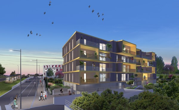 Programme immobilier le klimt montpellier 5 biens for Aide achat immobilier neuf