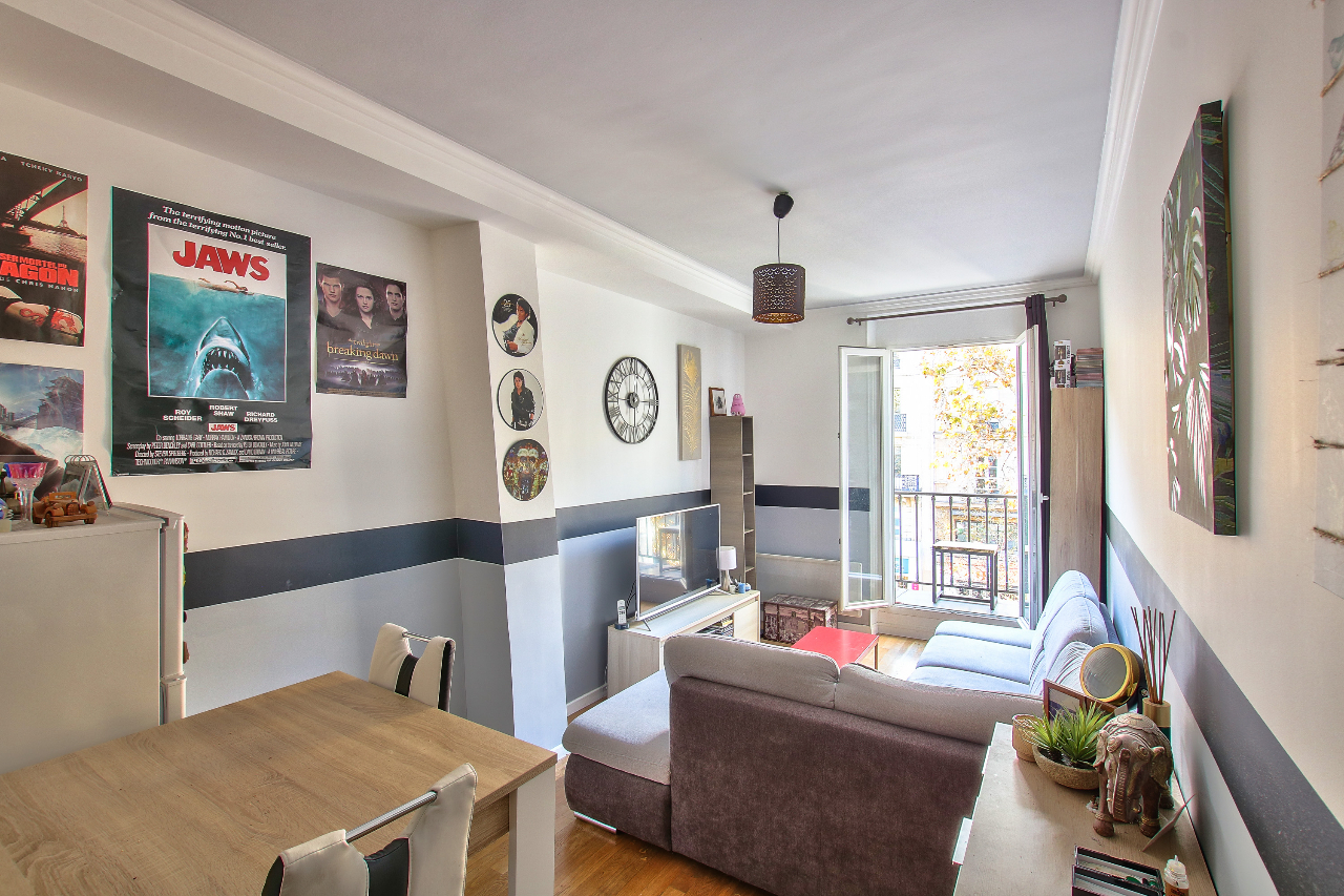 Appartement 2pièces 42m² Paris 4e