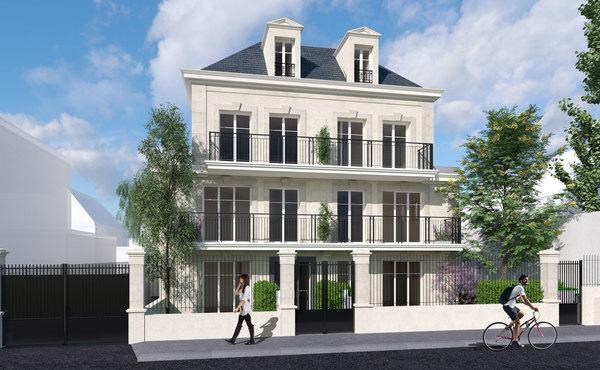 programme immobilier le jardin de paloma colombes 210 000 770 000. Black Bedroom Furniture Sets. Home Design Ideas