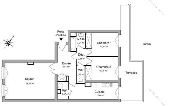 Location Appartement Val Doise 95 Appartement à Louer
