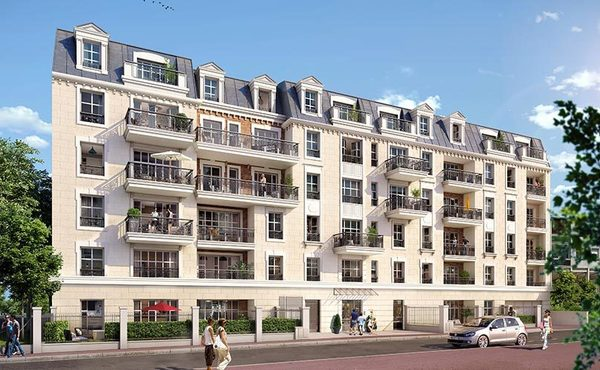 Programme immobilier VILLA PARISIENNE à Clamart : 52 biens neufs ...