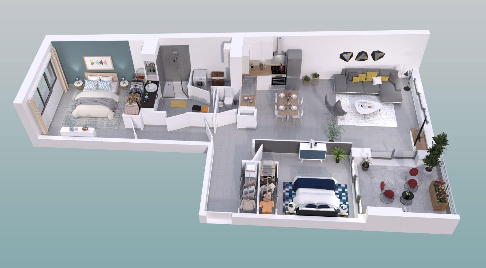 Achat Appartement 3 Pièces 75 M² Montpellier 464 000