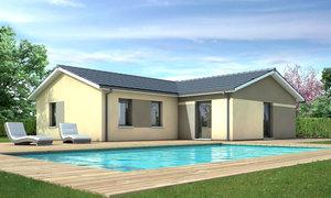 Maison neuve 4pièces 90m² Balizac