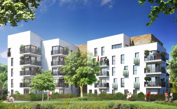 Programme immobilier m lodie cergy 46 biens neufs for Aide achat immobilier neuf