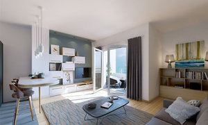 Appartement 3pièces 60m² Villeurbanne