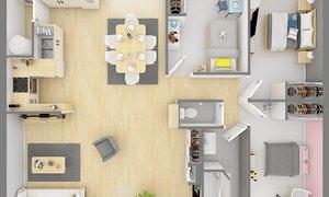Maison neuve 4pièces 84m² Rebergues