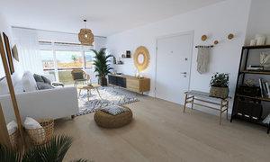 Appartement 2pièces 62m² Fort-de-France