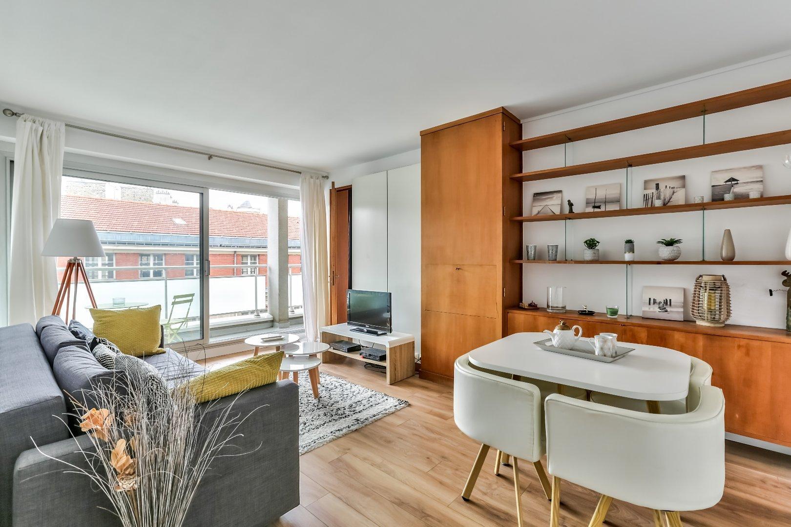 Appartement 2pièces 48m² à Paris 7e