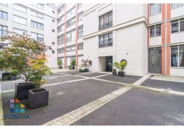 Appartement 2pièces 43m² à Paris 19e