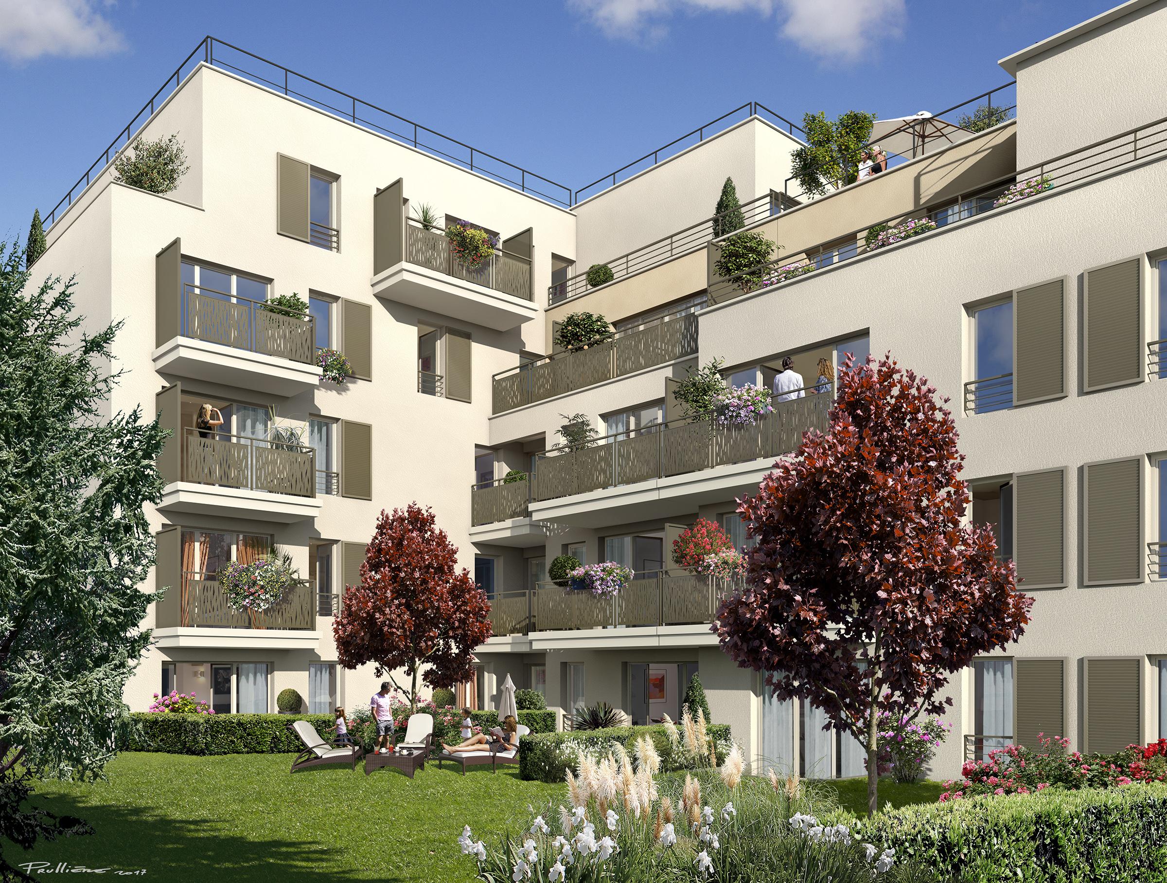 Cmp Livry Gargan concernant programme immobilier villa richelieu à livry-gargan