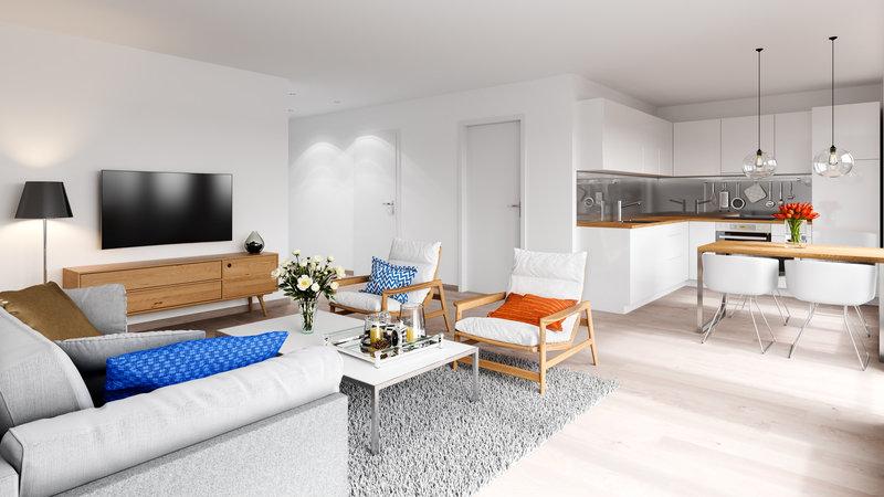 Dpt Corse (20), à vendre AJACCIO appartement T3 de 70,2 m² - Terrasse et parking