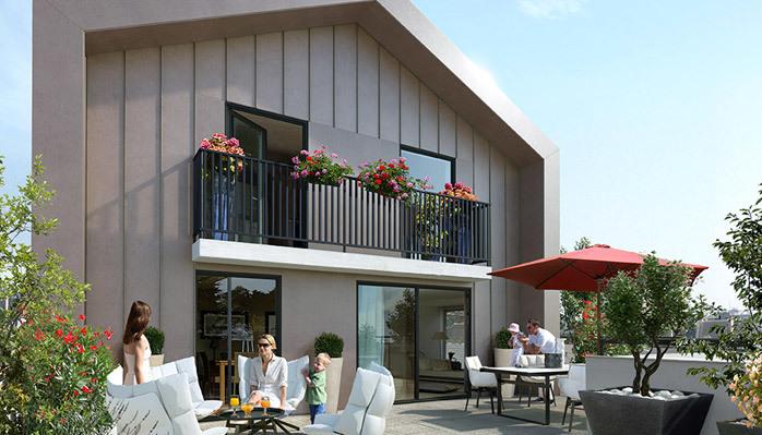 programme immobilier coeur castellio ch tillon. Black Bedroom Furniture Sets. Home Design Ideas