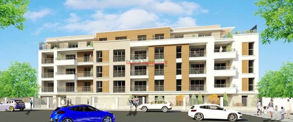 Appartement neuf 2pièces 47m² à Noisy-le-Grand