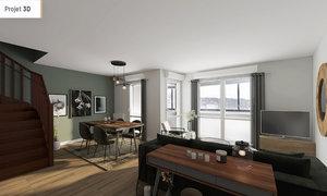 Appartement 5pièces 89m² Pau