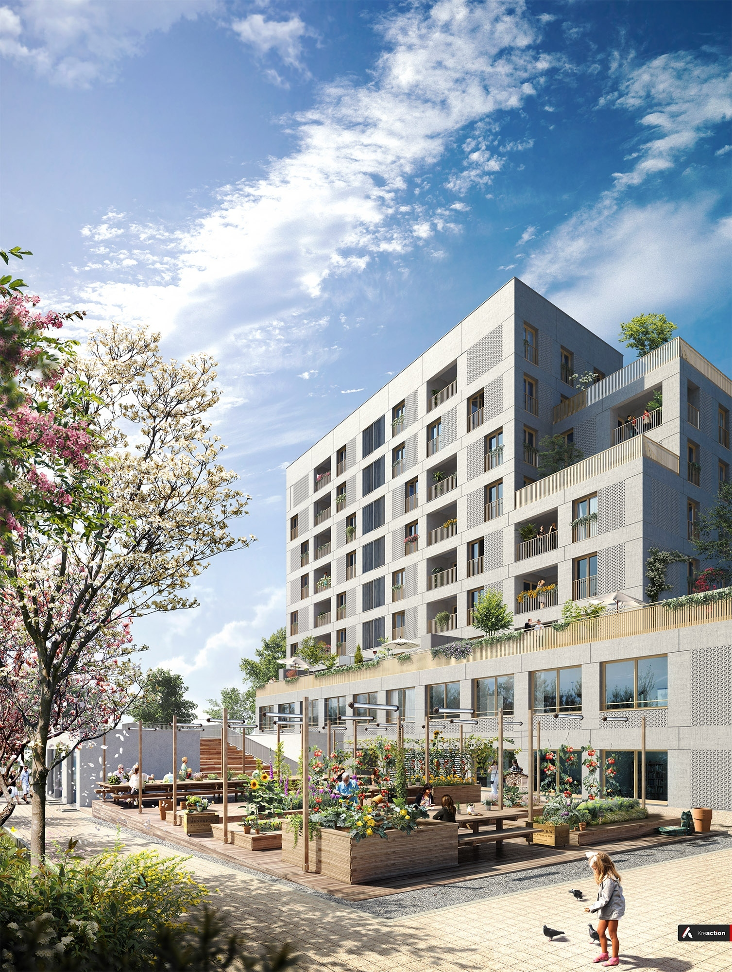 Programme immobilier so smart strasbourg 1 bien neuf for Immobilier strasbourg neuf