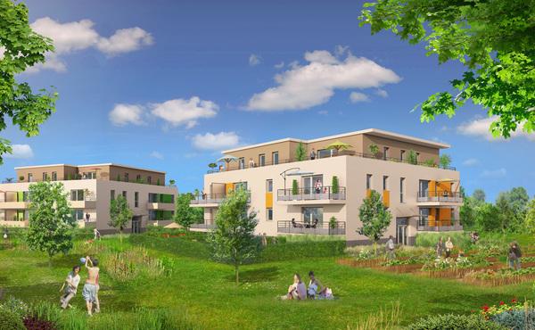 Programme immobilier le square fegersheim for Avant premiere immobilier neuf