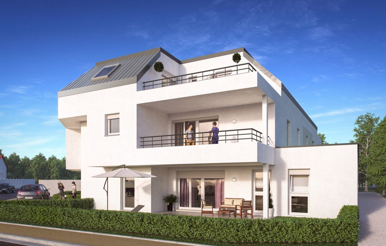 Programme immobilier villa bussi re strasbourg for Aide achat immobilier neuf
