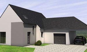Maison neuve 5pièces 99m² Le Lion-d'Angers