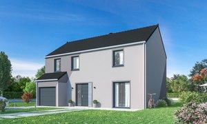 Maison neuve 5pièces 132m² Cesny-Bois-Halbout
