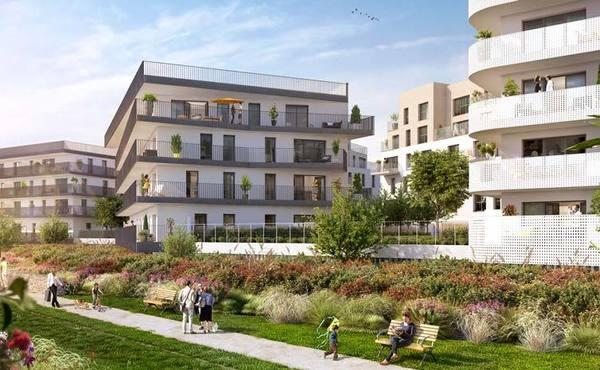 Programme immobilier L\'Archipel à Alfortville - 163 791 à 376 000 €