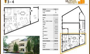 Appartement 3pièces 74m² Maillane