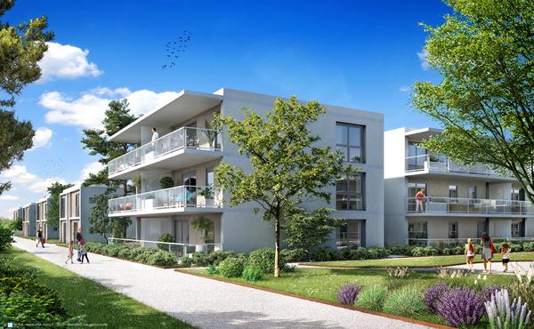 programme immobilier les suites du lac thonon les bains 69 biens neufs partir de 139 000. Black Bedroom Furniture Sets. Home Design Ideas