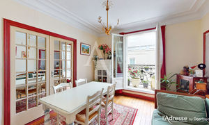Appartement 3pièces 57m² Paris 20e