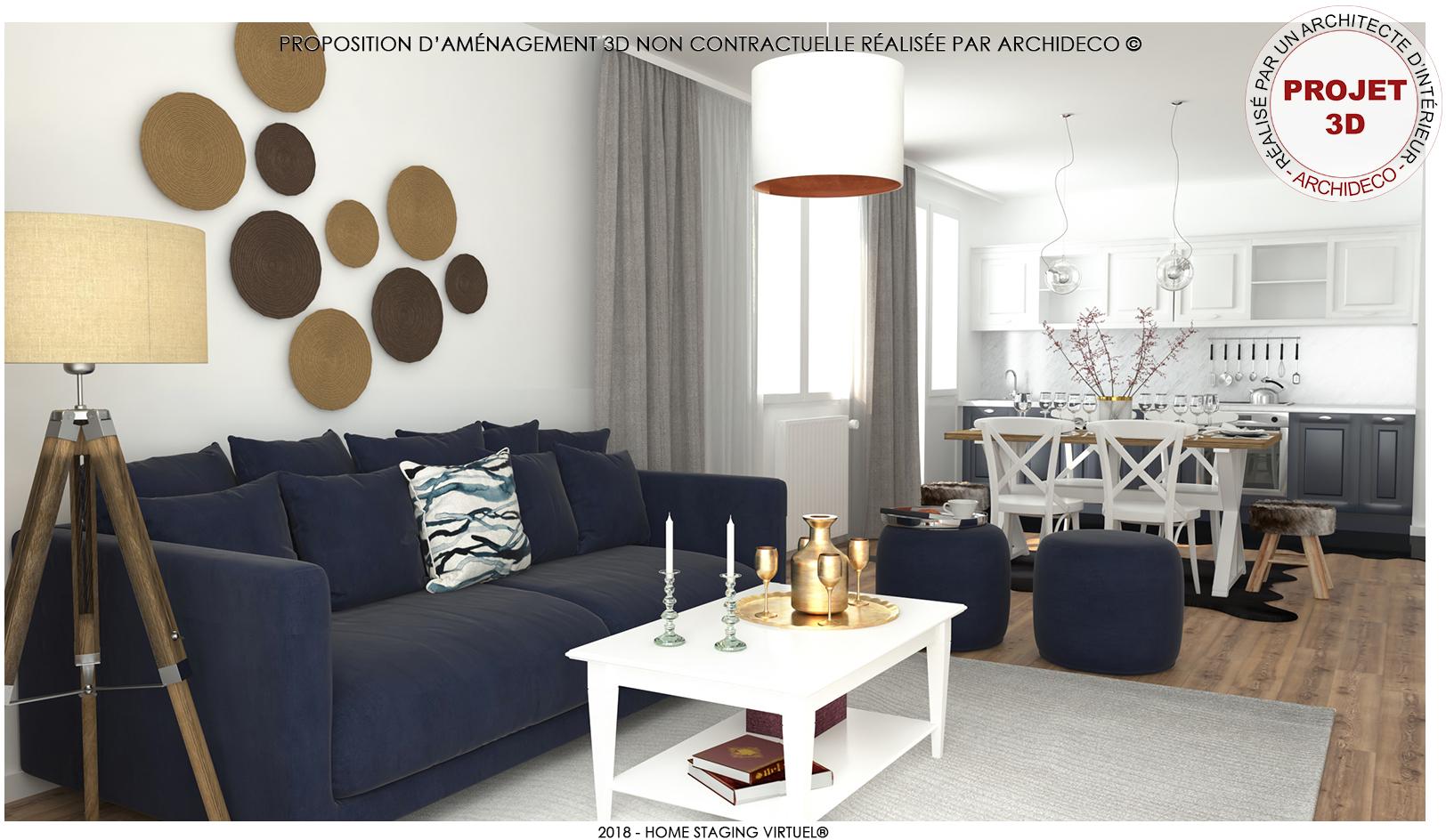 Appartement 3pièces 74m² à Pontoise