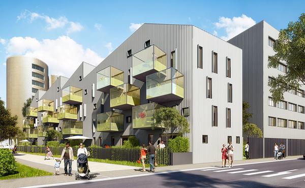 Programme immobilier alcyons bordeaux 375 000 439 000 for Immobilier professionnel bordeaux