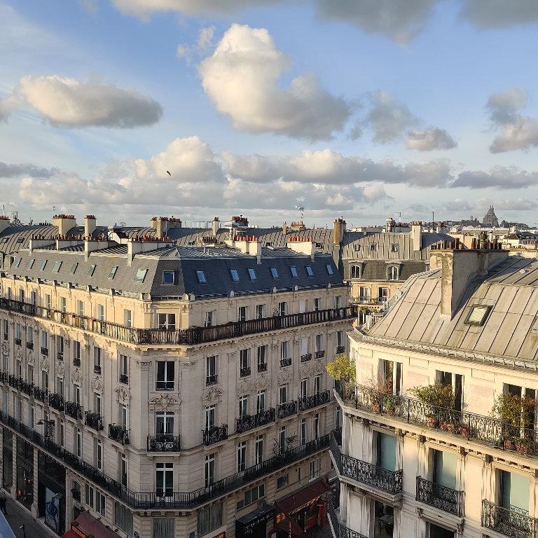 Appartement Paris 1 pièce(s) 24.54 m2
