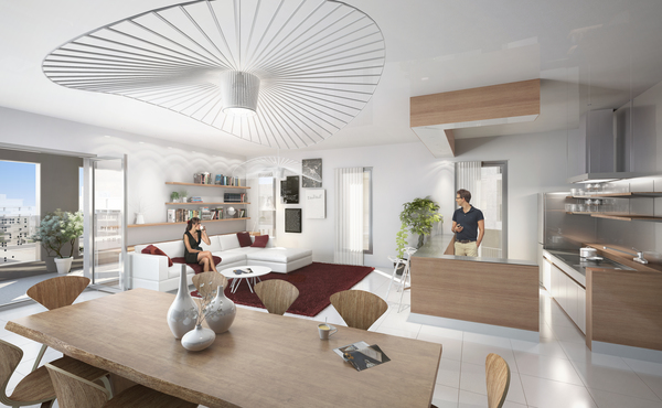 Programme Immobilier PALOMAYA à Montpellier à - Location appartement montpellier port marianne