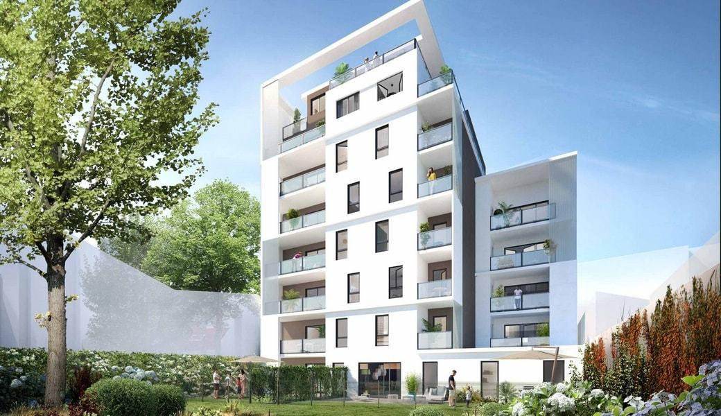 programme immobilier crin lumi re lyon 8e 22 biens neufs 310 000. Black Bedroom Furniture Sets. Home Design Ideas