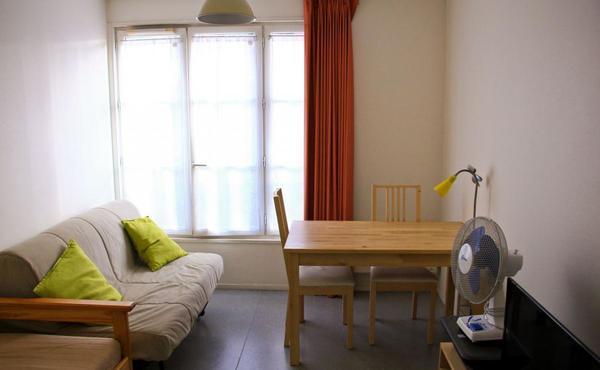 Location Studio Meublé 19 M² Paris 20e 800