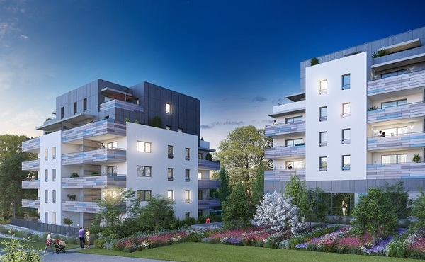Programme immobilier aromatik viry 52 biens neufs for Aide achat immobilier neuf