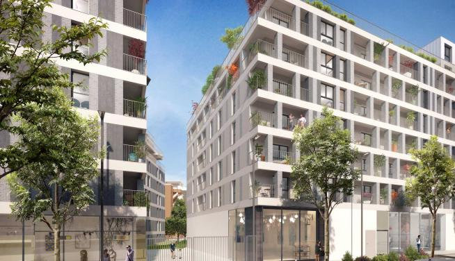 Appartement 2pièces 55m² Bobigny