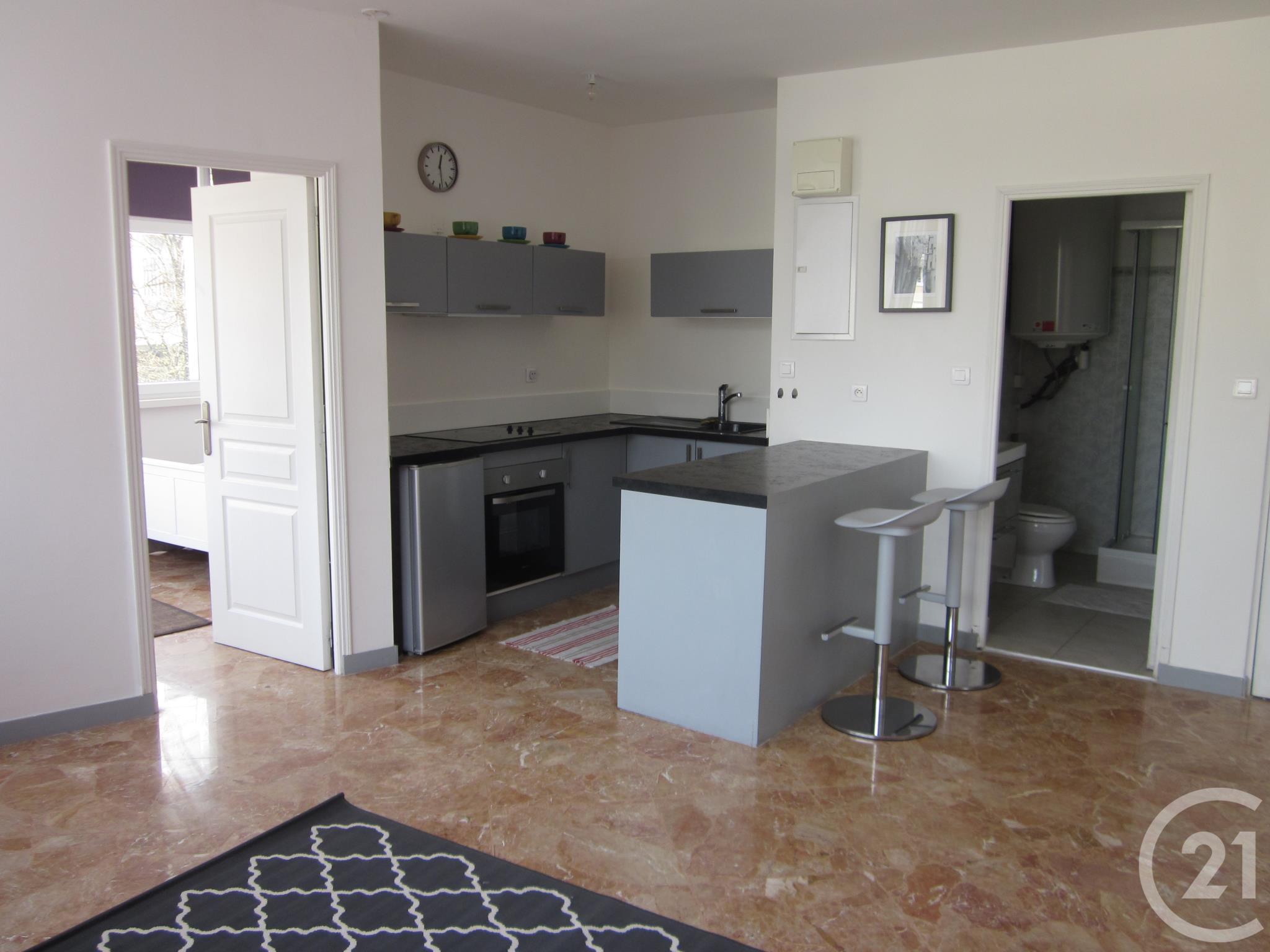 Beau Location Appartement Meublé 2 Pièces 39 M²