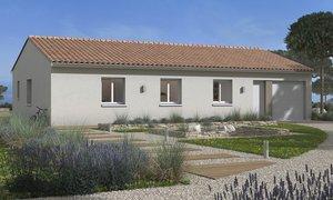 Maison neuve 4pièces 90m² Trébons-sur-la-Grasse