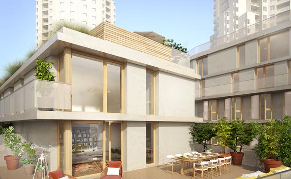 programme immobilier avant garde paris 19e 1 bien neuf. Black Bedroom Furniture Sets. Home Design Ideas