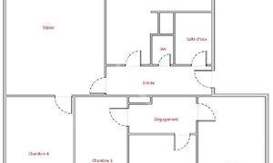 Appartement 5pièces 82m² Paris 12e